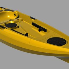 This a world first design which takes a big step forward in modular kayak design. It takes up much less space than any other hard shell kayak. It can fit easily in the back of your car, your garage or apartment elevator. With its built in wheels it is much easier to move around.