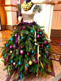 Christmas Tree Fashion Dress