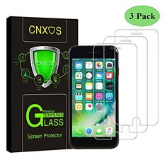 Buy iPhone / 5 / / SE Glass Screen Protector, CNXUS Tempered Glass Screen Protector for iPhone Anti Fingerprint, Touch Compatible, Oil Stain Scratch Coating, Ultra Clear Film (White 1 pack) Iphone 7 Plus, Iphone Hacks, Buy Iphone, Iphone Protector, Cell Phone Screen Protector, Iphone Deals, Oil Stains, Panzer, Tempered Glass Screen Protector