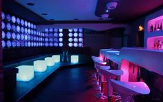 Simple, colorful and affordable night club lighting and design!