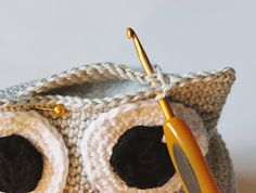 Amigurumi Owl Making 35 - Amigurumi Owl Making 35 - Crochet Owl Pillows, Crochet Birds, Crochet Animals, Owl Crochet Pattern Free, Free Pattern, Knitted Owl, Crochet Poncho, Projects To Try, Knitting