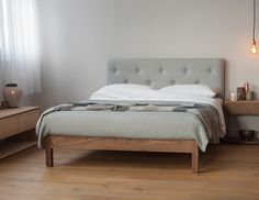 Stylish Arran bed - a new design from Natural Bed Company