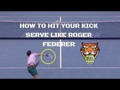 Roger Federer is widely acknowledged as the best tennis player of all time. One reason for this is his awesome serve. He does not have the biggest serve in t. Roger Federrer, Tennis Techniques, Tennis Serve, Tennis Quotes, Tennis Tips, Manny Pacquiao, Tennis Elbow, Education Humor, Rafael Nadal