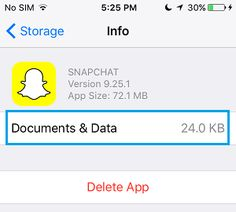 How to Delete documents and data on iPhone and iPad