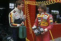 Automobilia 1983 Poster Programm F1 German Grand Prix Hockenheim Arnoux Piquet Lauda Affiche 100% Original