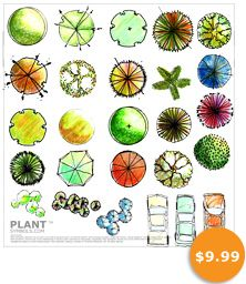 Plant Symbol Library Five