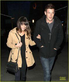 Lea Michele & Cory Monteith: 'Argo' Movie Date!