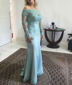Elegant Evening gown Lace Appliques Beading Off The Shoulder Floor Length Mermaid Party For Women mother of the bride dresses Godmother Dress, Fashion Vestidos, Pink Flower Girl Dresses, Mermaid Bridesmaid Dresses, Lace Evening Gowns, Long Prom Gowns, Mothers Dresses, Bride Dresses, Wedding Party Dresses
