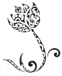 Lotus-On-Waves-Tattoo-Drawing-2.jpg (805×992)
