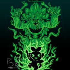 The Grass Gorilla Within Anime & Manga Poster Print Cool Pokemon Wallpapers, Cute Pokemon Wallpaper, Animes Wallpapers, Pikachu Art, Pokemon Fan Art, Pokemon Planta, Festa Pokemon Go, Cool Pokemon Cards, Day Of The Shirt