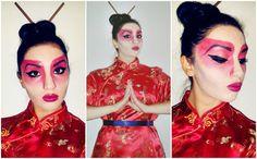 Halloween Geisha look, created by myself.