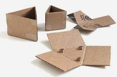 Cómo hacer macetas triangulares con cemento