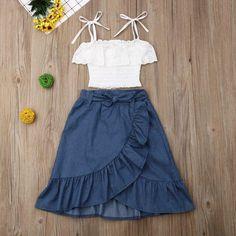 Kids Dress Wear, Summer Dress Outfits, Little Girl Dresses, Baby Dress, The Dress, Kids Outfits, Girls Dresses, Cute Outfits, Summer Clothes