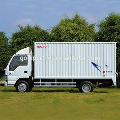 600p mini transport Isuzu van cargo truck