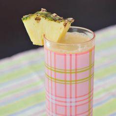 Piña Colada breakfast protein smoothie