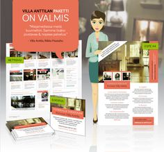 Business Identity & Website Design by Maijamedia. Every business should have a consistent line of products that's easy to recognize. This package includes a website, brochure and ads. Simple and easy to bring onto the market!  *** Rent a Country House in Helsinki Region  Enjoy your vacation in Villa Anttila, Porvoo Finland. Sauna and an outdoor swimming pool. Villa Anttila is surrounded by beautiful Finnish forest. Outdoor Swimming Pool, Swimming Pools, Enjoy Your Vacation, Website Designs, Helsinki, Finland, Identity, Villa, Bring It On