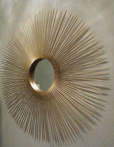Living in the 513: DIY Sunburst Mirror