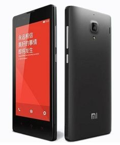 "Xiaomi Red rice 1S - Smartphone libre Android (pantalla 4.7"", cámara 8 Mp, 8 GB, Quad-Core 1.6 GHz, 1 GB RAM), negro"
