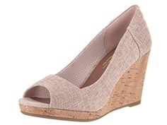 1c116a0d76f online shopping for TOMS Women s Stella Wedge Casual Shoe from top store.  See new offer for TOMS Women s Stella Wedge Casual Shoe