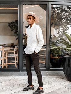 Mensfashion style by Lesley Mpofu. White textured shirt Zara style Zara Fashion, Mens Fashion, Zara Style, White Texture, Photo And Video, Lifestyle, People, Model, Shirts
