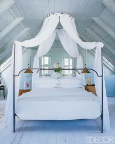 Chic summer bedrooms... thanks @ELLE DECOR