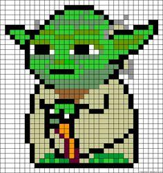 Spielwaren-Kröll - Hama - Vorlage - Yoda