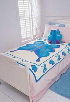 Butterfly Blanket (knit)
