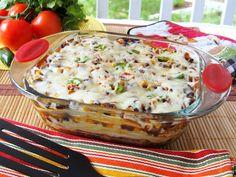 The Yummy Morsel: Tortilla Casserole