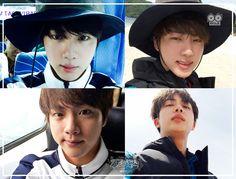 Jin ❤'Law of The Jungle' in Kota Manado PD NOTE Photos #BTS #방탄소년단