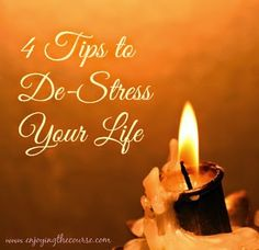 Enjoying The Course: 4 Tips to Relieve Stress