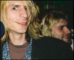 Mark Arm and Kurt Cobain