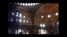Ashley and Bronnie at the Hagia Sophia, Istanbul, Turkey
