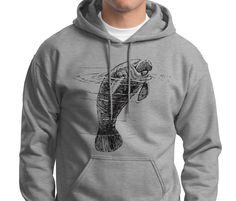 I really might need this manatee hoodie