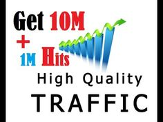 Get 1000000 Free Traffic To Your Website And 1 Million Hits | Targeted Visitors Secrets Way In this video i am going to show you Get 1000000 Free Traffic To Your Website And 1 Million Hits | Targeted Visitors Secrets Way with it. this guide is specially created for the newest and beginners. If you are serious about getting free traffic to your website you need to consider this technique. If you continue doing what you are doing your results will be the same which are no doubt terrible. If…
