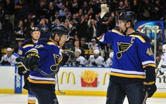 David Backes named NHL first star after four-goal game. David Backes is having quite the eventful season. The captain for the St. Louis Blues, known for his gritty determination and lack of fear on the ice, rang …