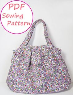 PDF Sewing Pattern - Tuck Granny Bag