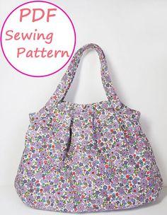 PDF Sewing Pattern - Tuck Granny Bag