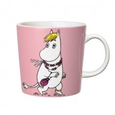 "Pin for Later: 45 Gifts That Say ""You're My BFF"" Iittala Finland Arabia Snorkmaiden Moomin Mug Moomin Shop, Moomin Mugs, Tea Mugs, Coffee Mugs, Moomin Valley, Tove Jansson, Ceramic Cups, Ceramic Tableware, Porcelain Mugs"