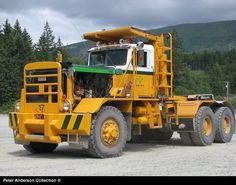 Canadian Logging Truck