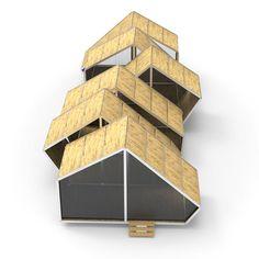 Structures indépendantes, mobiles et démontables destinées aux événements culturels extérieurs ou intérieurs.