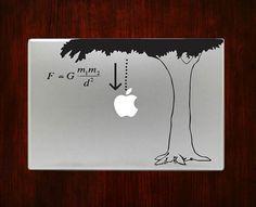DecalOnTop.com - Newton Law of Gravity Science Nerdy Macbook Decal Stickers, €9.18 (https://www.decalontop.com/newton-law-of-gravity-decal-sticker-vinyl-for-macbook-pro-air/)