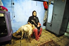 Sana Ansari, 19, at her home in Indore. She and her brother Mazhar and sister…