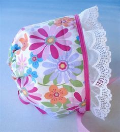 Image result for Printable Sewing Pattern Bonnet