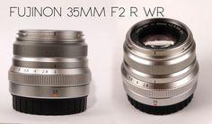 fuji 35mm f2 R WR lens unboxing quick review