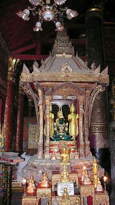Wat May Sisouvanna - Luang Prabang, Laos