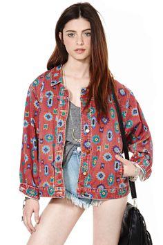 Phoenix Denim Jacket | Shop Vintage at Nasty Gal