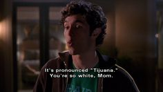"""""""You're so white, Mom."""" -Seth Cohen, the OC. Season The Rescue. Tv Show Quotes, Film Quotes, Movies And Series, Movies And Tv Shows, Tv Series, Summer And Seth, The Oc Tv Show, Red Band Society, I Need U"""