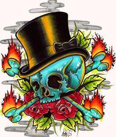 Top Skull by Metalhead99 on deviantART