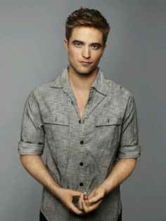 Robert Pattinson......only in some pictures and Breaking Dawn part 2. Other than that he is cute.