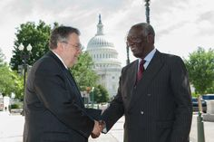 Mr. John Kufuor, President of the Republic of Ghana (2001-2009) and the Global Network's Neglected Tropical Disease (NTD) Special Envoy, traveled to Washington, D.C. to meet with members of Congress in order to continue to raise awareness of the impact of NTDs.
